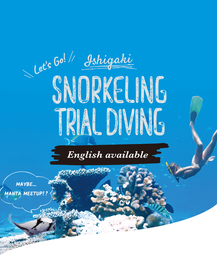 Ishigaki Snorkelling and Traial Diving Tours Jiyujin